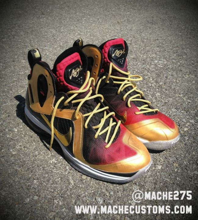 Nike LeBron 9 P.S. Elite 'MVP' by Mache Custom Kicks