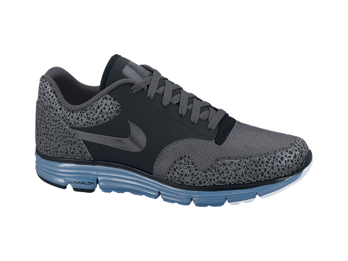 Nike Lunar Safari Fuse+ 'Black/Anthracite-Dark Grey-Dynamic Blue' - Now Available