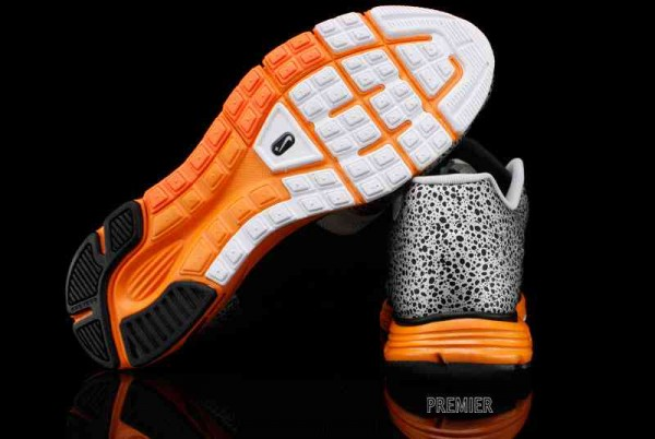 Nike Lunar Safari Fuse+ 'Black/Anthracite-Neutral Grey-Total Orange'