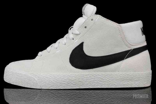 nike sb blazer high white