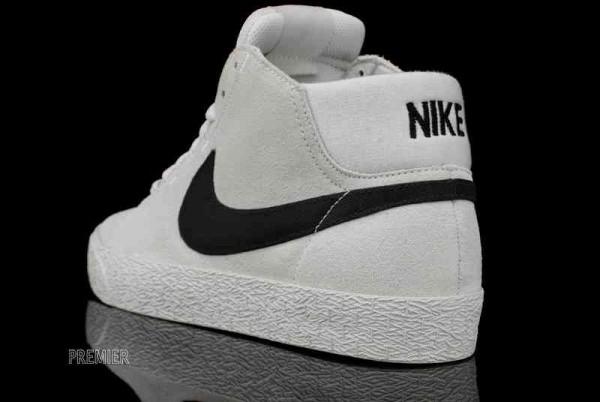 Nike SB Blazer Mid LR 'Swan/Black'