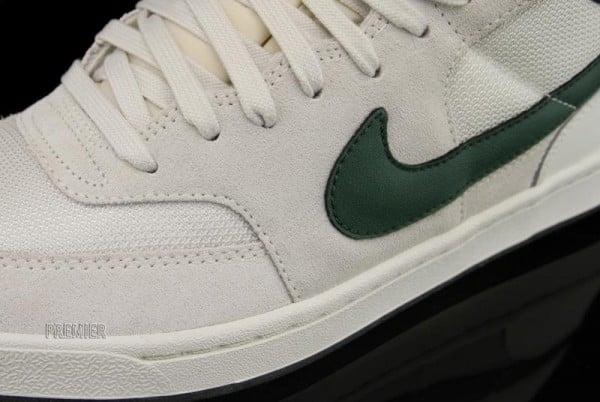Nike SB Challenge Court Mid 'Swan/Gorge Green-Black' at Premier