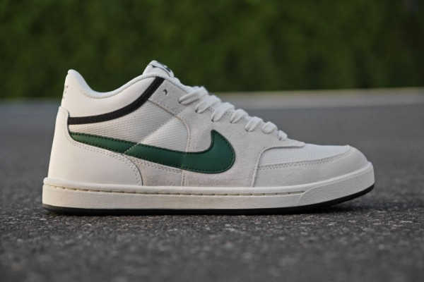 Nike SB Challenge Court Mid 'Swan/Gorge Green-Black' at Primitive