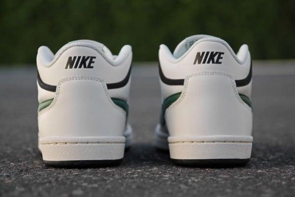 Nike SB Challenge Court Mid 'Swan/Gorge Green-Black' at Primitive