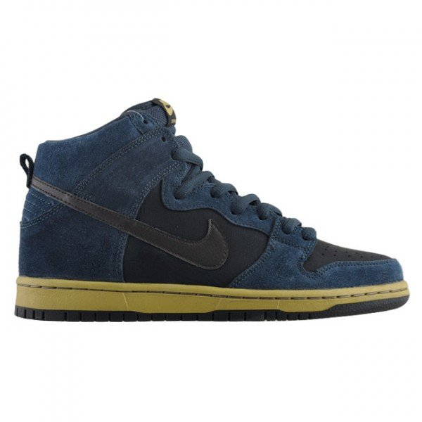 Nike SB Dunk High 'Classic Charcoal/Tar-Black'
