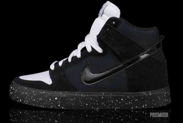 Nike SB Dunk High LR 'Black/White'