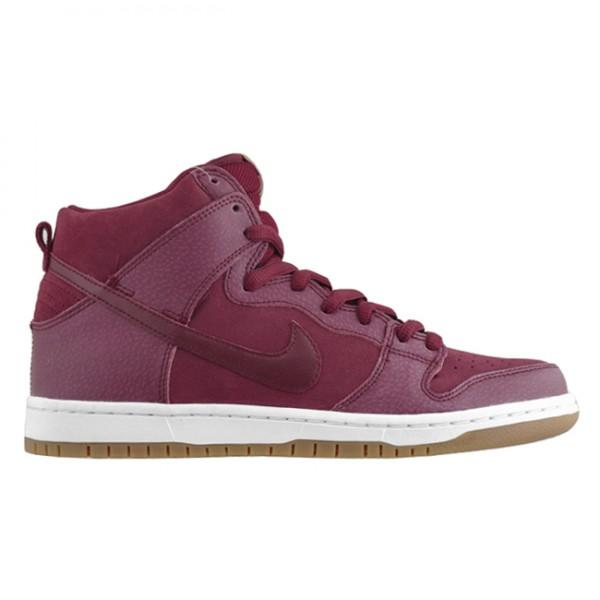 Nike SB Dunk High 'Team Red/Filbert'
