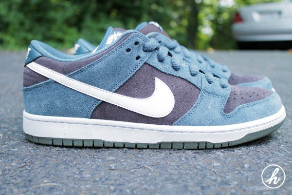 Nike SB Dunk Low 'Slate Blue' - Detailed Images