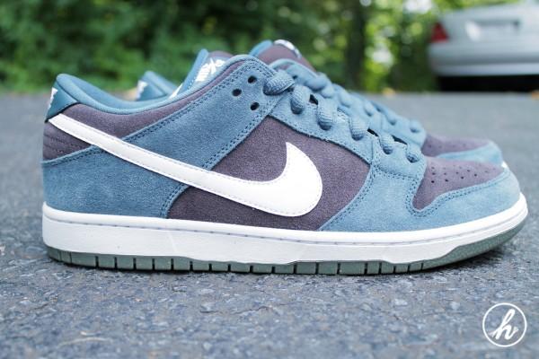 Nike SB Dunk Low 'Slate Blue' - Detailed Images
