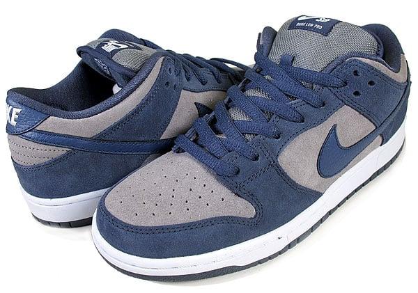 b09e02c5f109 Nike SB Dunk Low  Thunder Blue Cool Grey-White