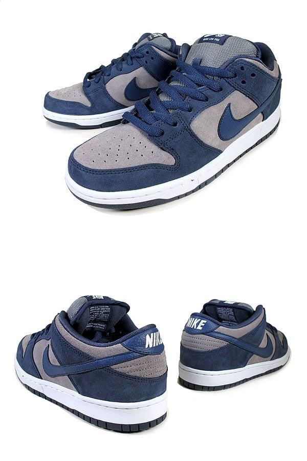 Nike SB Dunk Low 'Thunder Blue/Cool Grey-White'