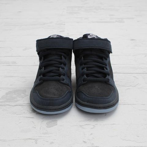 Nike SB Dunk Mid 'Dark Obsidian/Thunder Blue' at Concepts