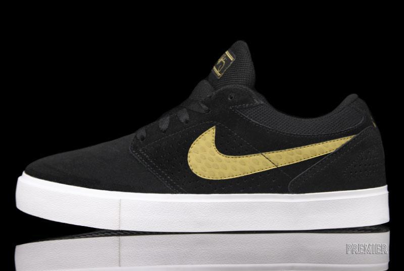 Nike SB P-Rod 5 LR 'Black/Metallic Gold'