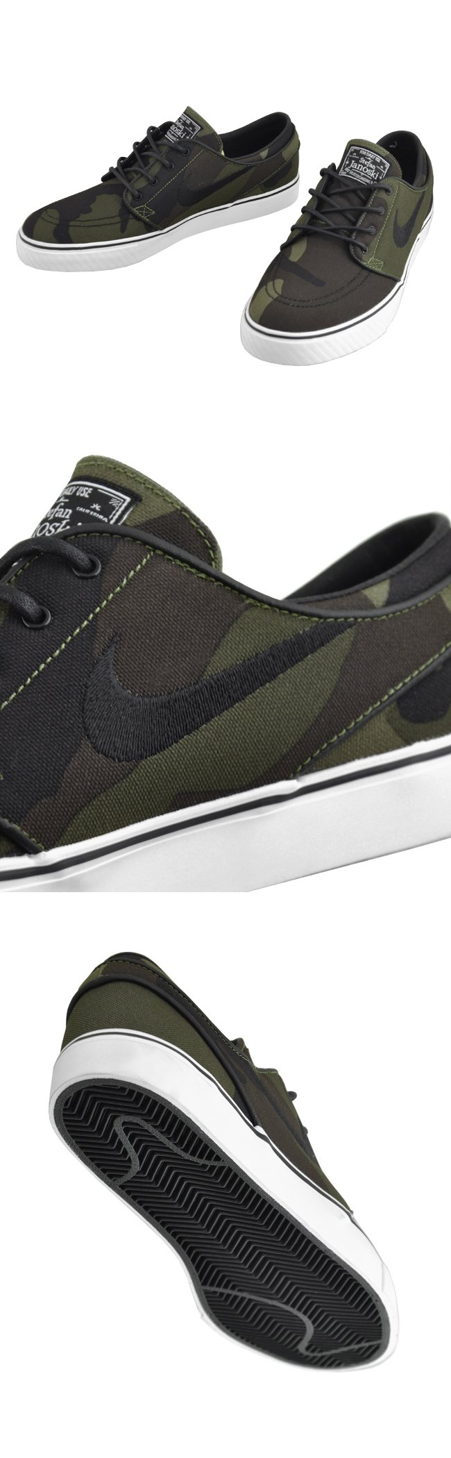 Nike SB Stefan Janoski 'Camo' - Another Look