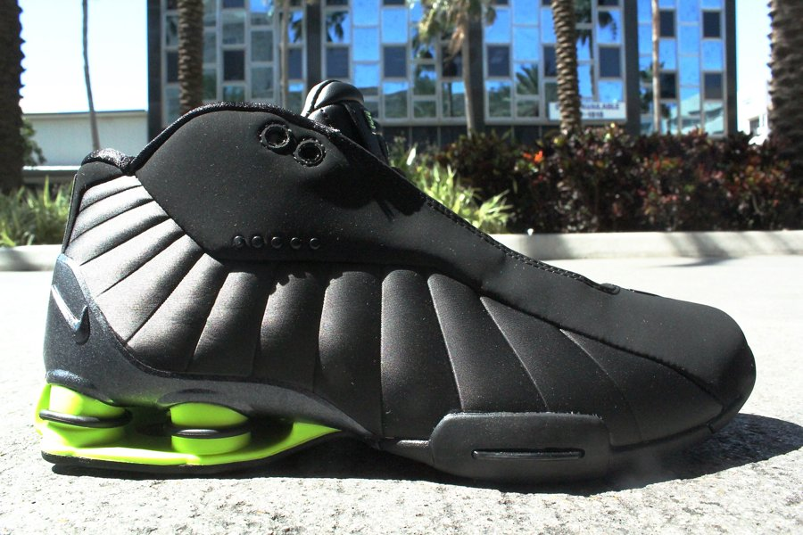 9dcbcd7432c Nike Shox BB4 HOH BlackVolt – Another Look ... shox bb4 vince carter black  volt. since this is the ...