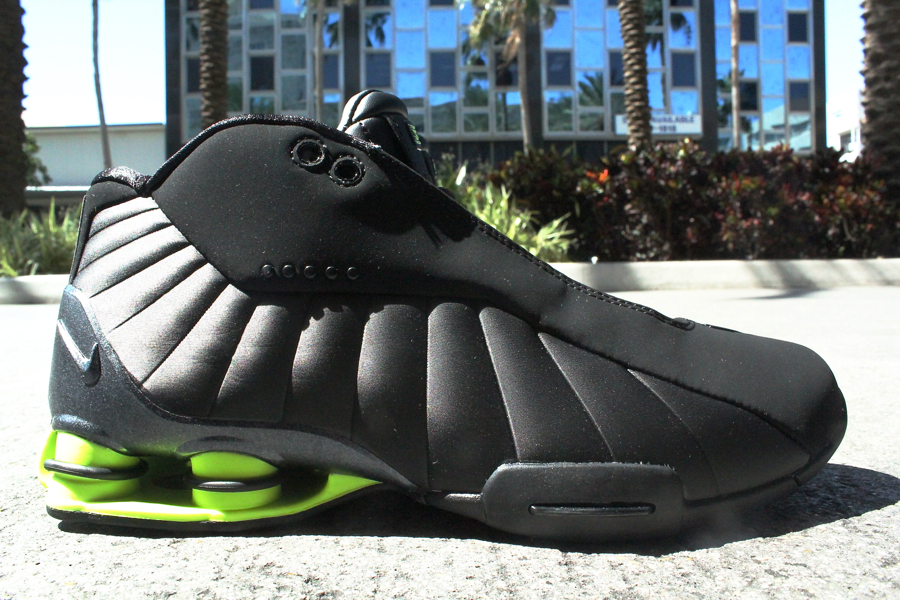 Nike Shox BB4 HOH 'Black/Volt' - Another Look