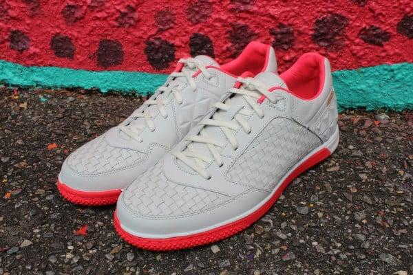 Nike5 Woven StreetGato QS 'Summit White/Solar Red' at Social Status