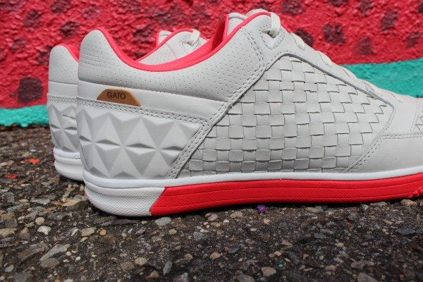 Nike5 Woven StreetGato QS 'Summit White/Solar Red' at Social Status