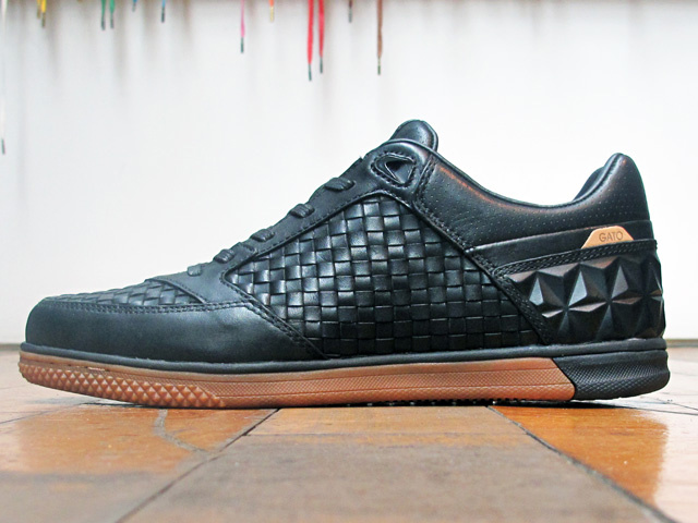 Nike5 Woven StreetGato QS 'Black/Gum Medium Brown' at 21 Mercer
