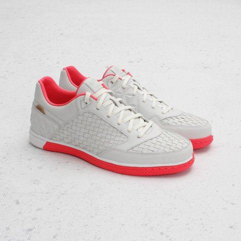 Nike5 Woven StreetGato QS 'Summit White/Solar Red' at Concepts