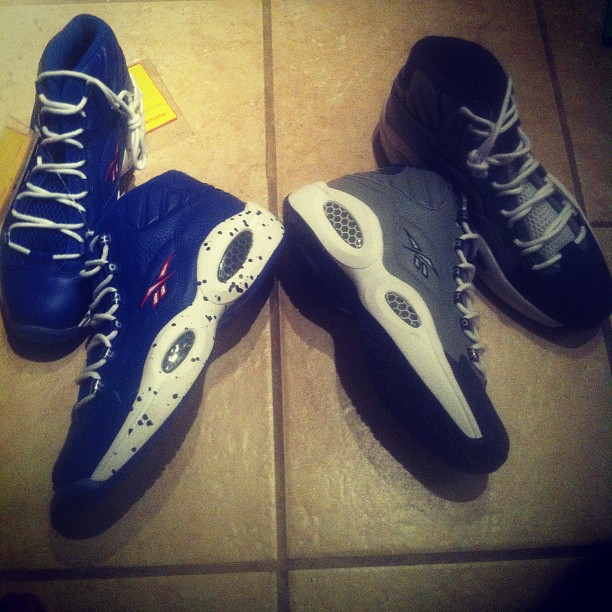 Reebok Question Mid Samples