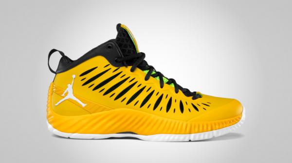 Release Reminder: Jordan Super.Fly 'Tour Yellow/White-University Gold-Black'