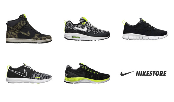 sports shoes 62c5f 07a3f Release Reminder  Liberty x Nike Running Fall 2012 Collection