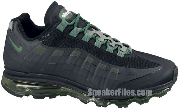 Release Reminder: Nike Air Max+ 95 BB 'Black/Pine Green-Dark Grey-Wolf Grey'