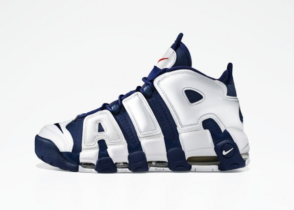 Release Reminder: Nike Air More Uptempo 'Olympic'