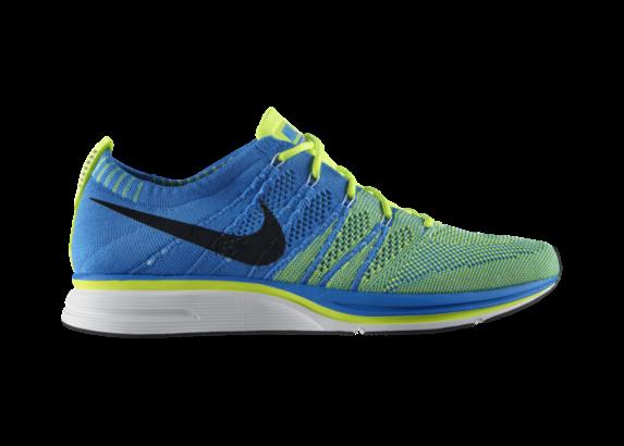 Release Reminder: Nike Flyknit Trainer+ 'Blue Glow/Blue Tint-Volt'