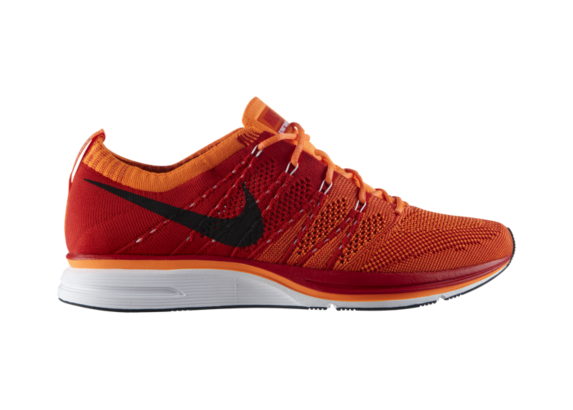 Release Reminder Nike Flyknit Trainer+ 'University Red/White-Total Orange'