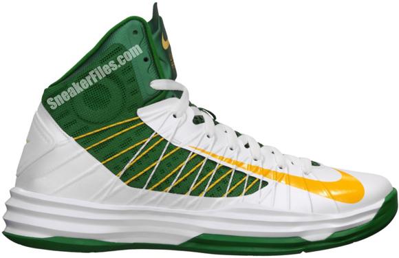 Release Reminder: Nike Hyperdunk 'White/University Gold-Pine Green-Gorge Green'