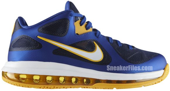 Release Reminder: Nike LeBron 9 Low 'Game Royal/University Gold-Midnight Navy'