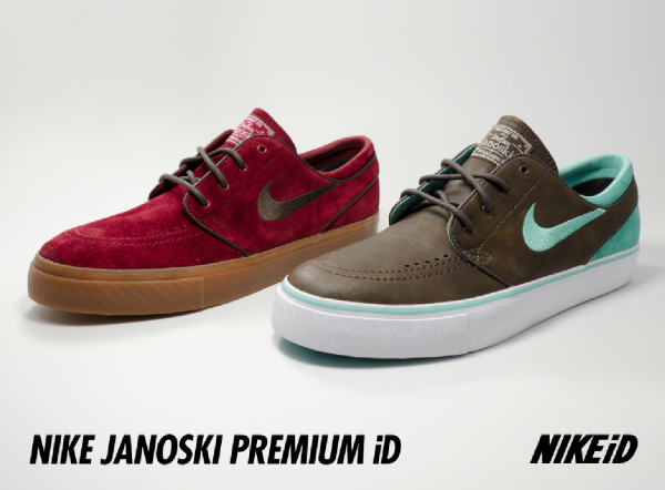 Release Reminder: Nike SB Stefan Janoski Premium iD