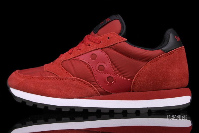 finest selection 32f7a 89d1c Saucony Jazz Original 'Red/Black' | SneakerFiles