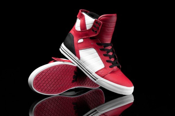 46d7e77b812f Supra Skytop  Red Black White