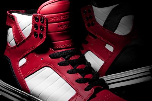 Supra Skytop 'Red/Black/White'