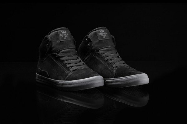 Supra Society Mid 'Black and Grey'