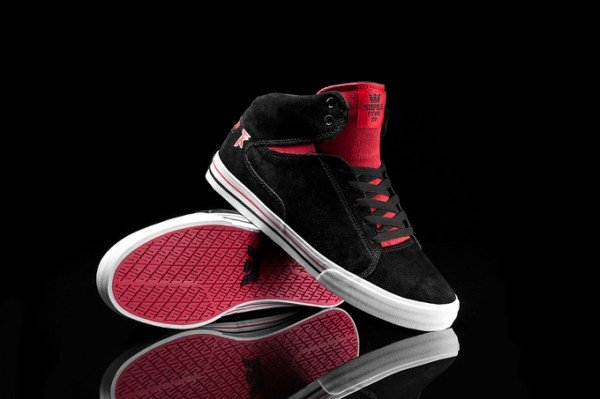 Supra Society Mid 'Black and Red'