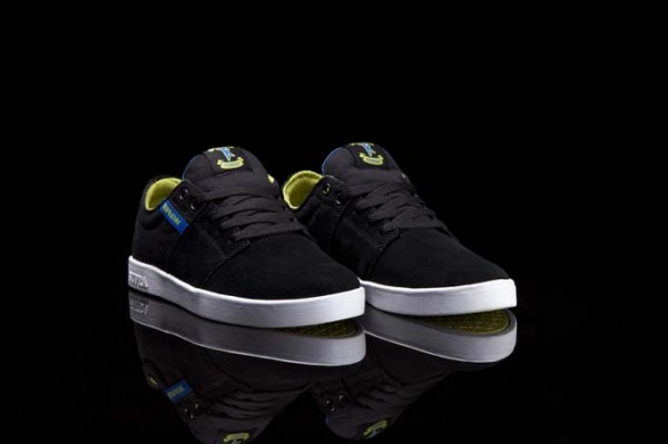 Supra Stacks 'Black/Neon-White'
