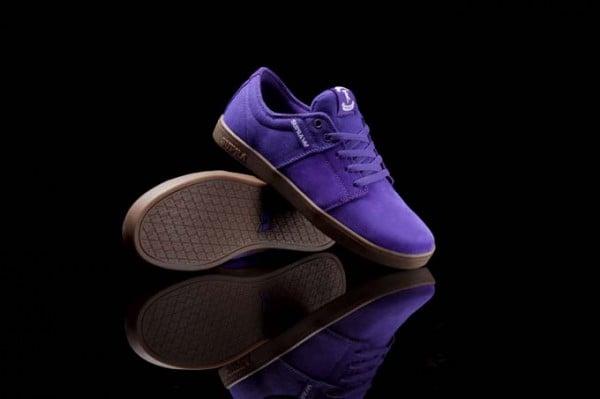 Supra Stacks 'Purple/Gum'
