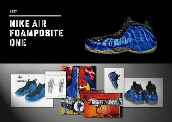 Twenty Designs That Changed The Game – Nike Air Foamposite One