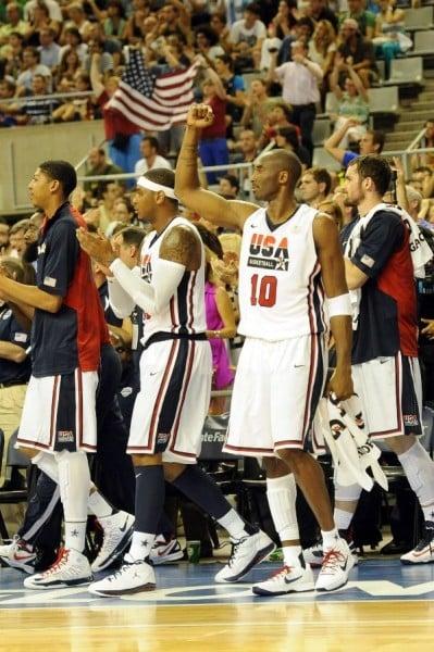 USA Men's Basketball Dons Dream Team-Inspired Throwbacks in Win Over Argentina
