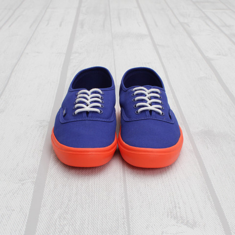 Vans Authentic Lite Pop 'Surf The Web/Neon Orange'