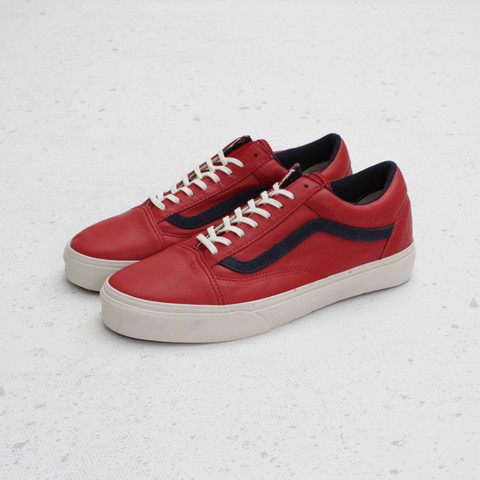 Vans CA Old Skool Reissue Leather 'Chili Pepper/Dress Blues'