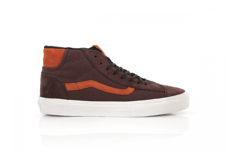 Vans Vault Mid Skool 77 LX Italian Leather 'Coffee Bean/Bossa Nova'
