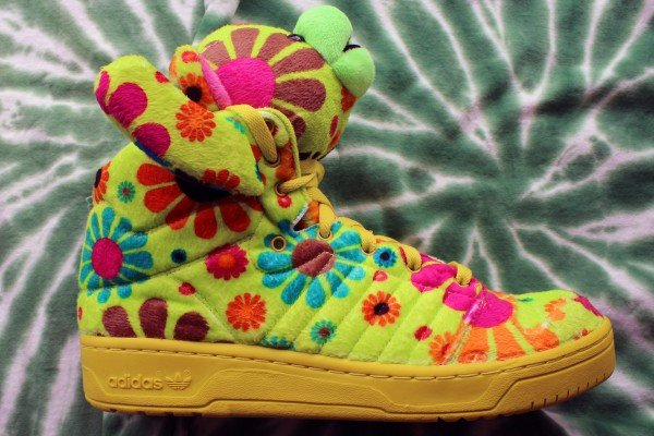 adidas Originals by Jeremy Scott JS Bear 'Psychedelic' at Social Status