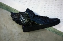 adidas Originals by Jeremy Scott JS Wings Black Patent Leather – Spring 2013