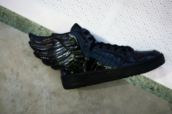 adidas Originals by Jeremy Scott JS Wings Black Patent Leather - Spring 2013