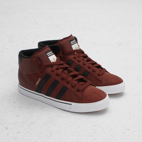 adidas Skateboarding Campus Vulc Mid 'Dark Rust/Black/White'